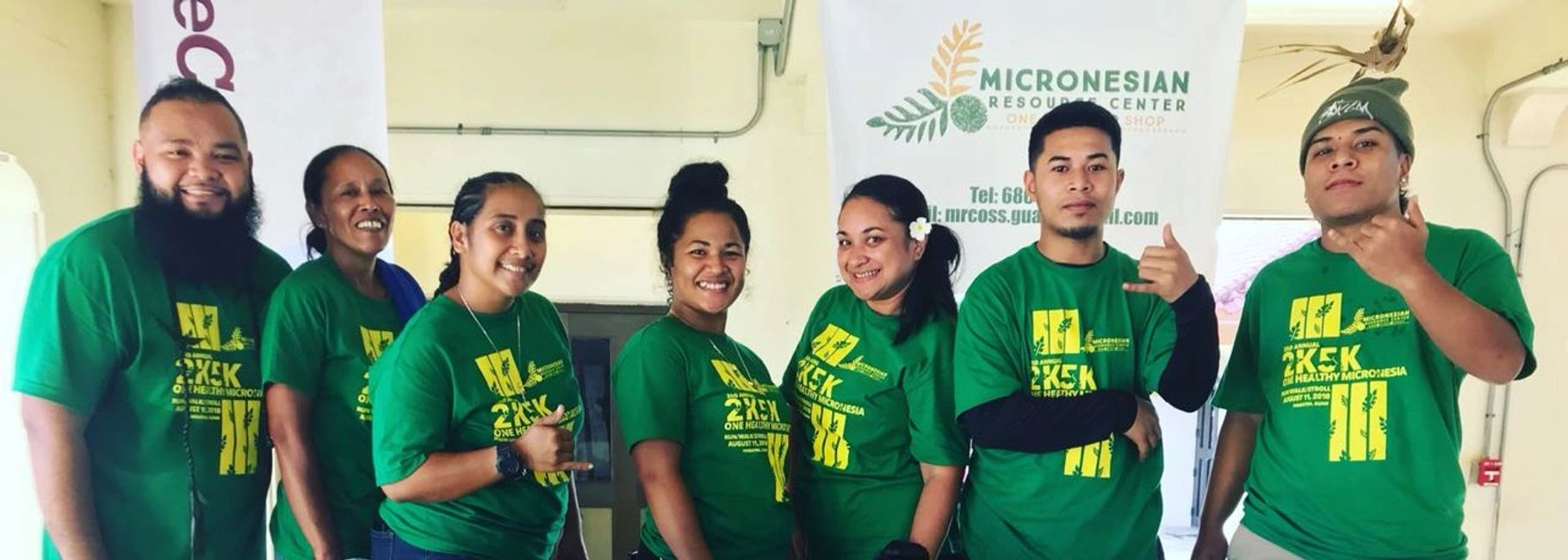 The Micronesian Resource Center One-Stop Shop staff and volunteers.