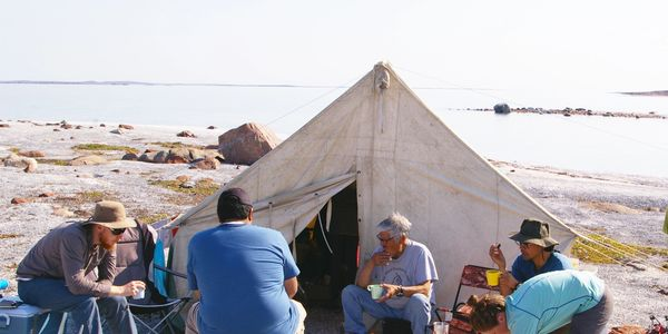 Inuit traditional knowledge workshop,
