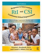 RtI and CSI Response to Intervention