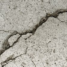 Concrete fails when it is improperly placed, or the subgrade is not adequate.