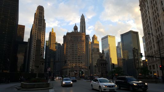 Magnificent Mile Chicago Illinois