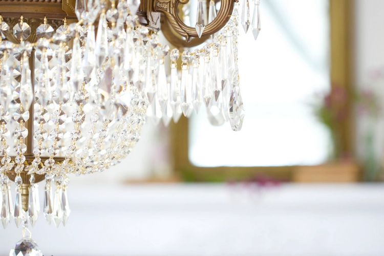 Chandelier Crystals for chandeliers, home decor, weddings & crafts.