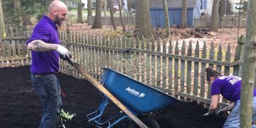 spring clean up in lumberton, mount laurel, eastampton, burlington, mount holly. landscaping, nj