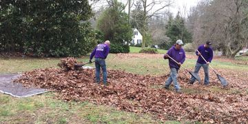 leaf up in lumberton, mount laurel, eastampton, burlington, mount holly. landscaping, nj