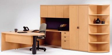 EZ PHZ Office Furniture Executive Wood and Laminate Desks