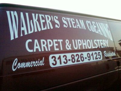 Detroit Carpet Cleaning Carpet Cleaner Steam Cleaning Van