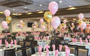 Simple, affordable centerpiece Balloon Bouquets can can easily enhance your event without breaking the budget!