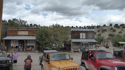 The old mining town of Chloride, NM