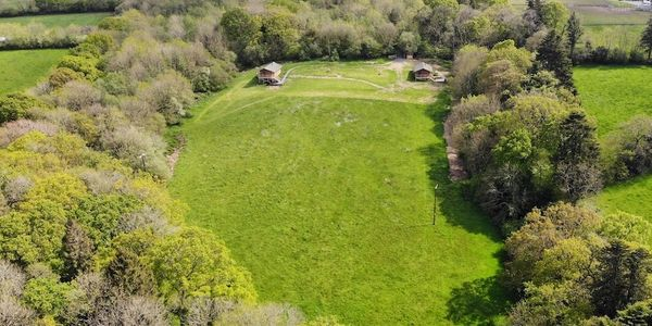 Devon Glamping at Beara Lodge, located in North Devon in 5 acre meadow surrounded by 6 acre woodland
