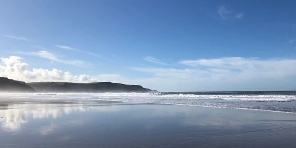 North Devon Coast and Beaches Nearby. Swimming, surfing, walking, fishing.