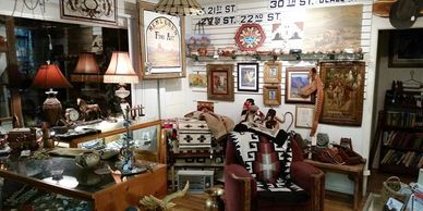 Native American jewelry  and western art near Beaver Creek Inn