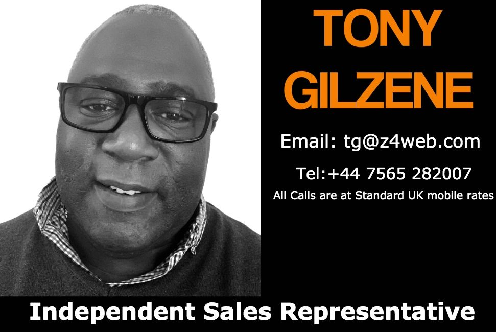 Picture of Z4Web Review Tool Independent Sales Representative Mr Tony Gilzene