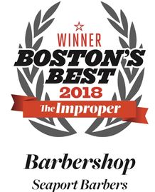 Seaport Barbers 2018 Best Barbershop by The Improper Bostonian