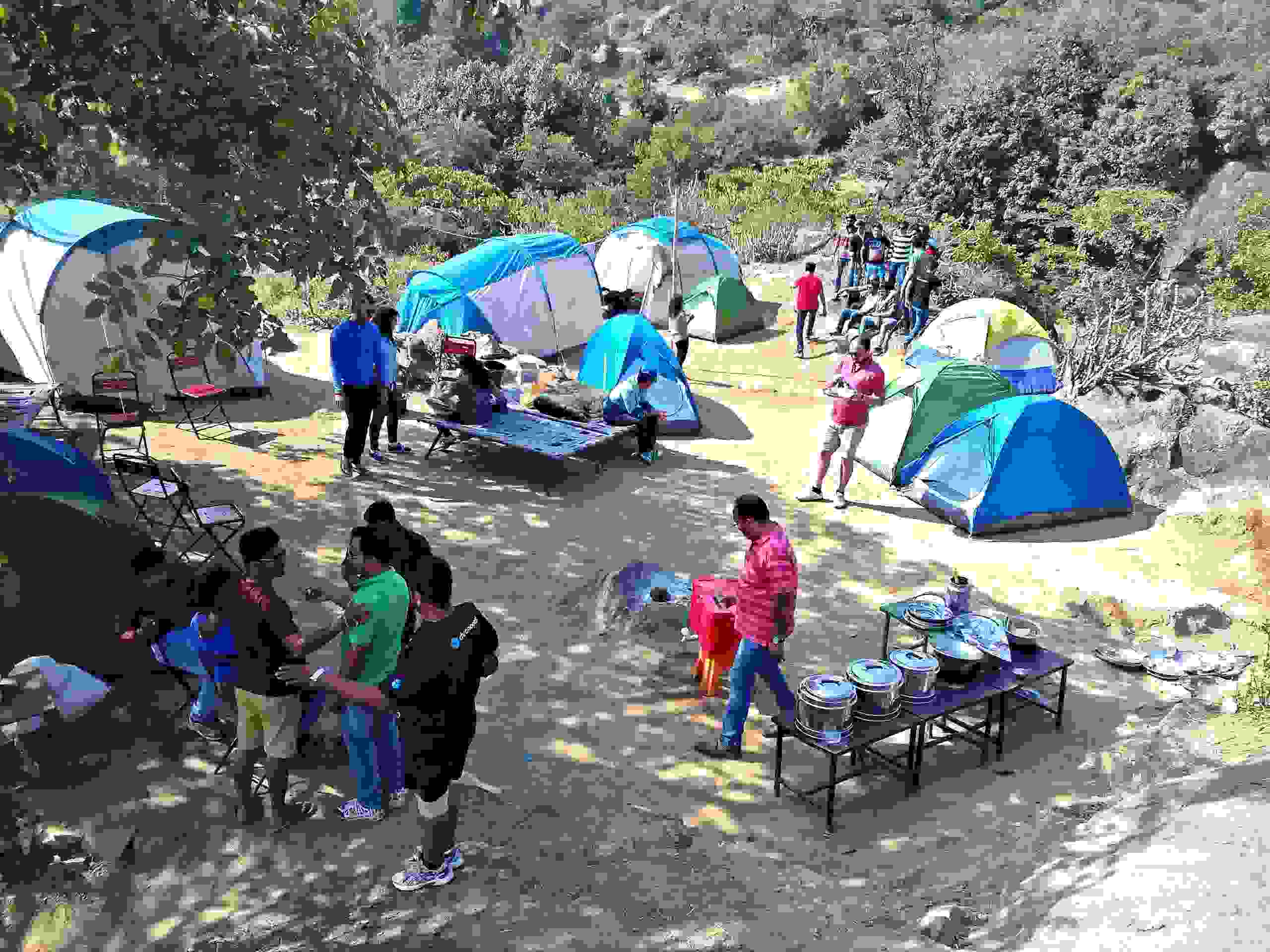 camping adventure activities in mount abu