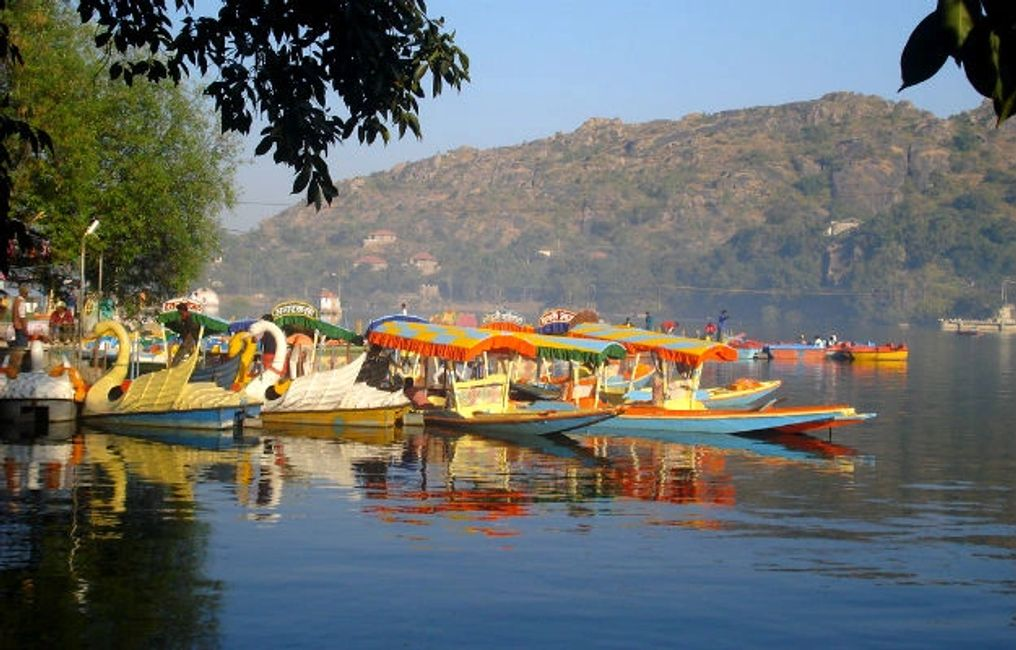 top things to do in mount abu, boat rid or boating
