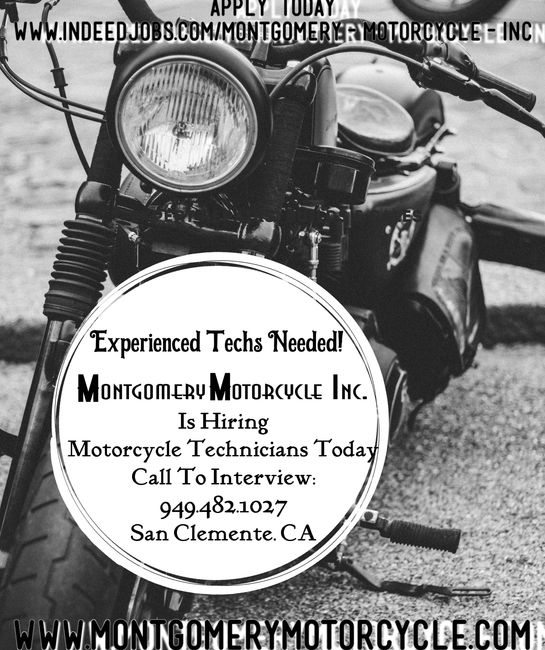 Montgomery Motorcycle Inc. is Hiring. Indeed