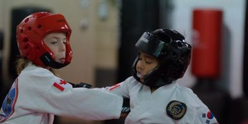 Sparring classes for kids