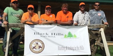 18 dogs ran in the Black Hills chapter's inaugural hunt tests August 10 & 11, 2019!