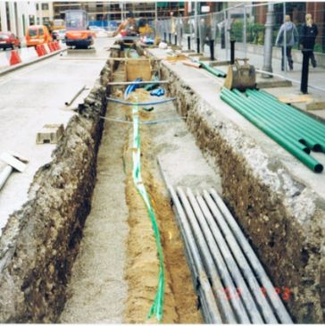 MRPH, Luas, Dublin, Utilities, Pipes, Ducts, Digging, Trench, Cable Installation