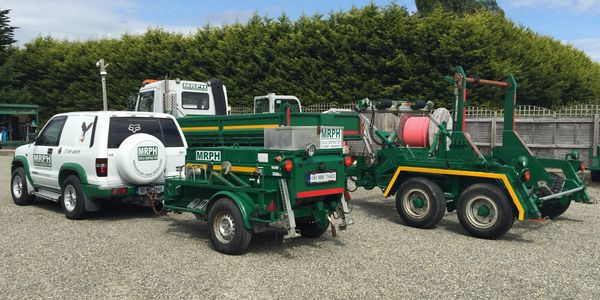 MRPH. Jeep, Winch. Lorry, Drum Carrier, Cable Installation equipment. Hydraulic