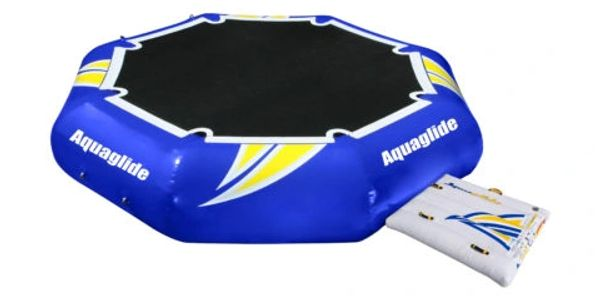Aquaglide 12' rebound water trampoline, commercial grade PVC