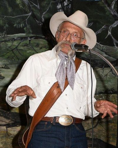 At the Cimarron Cowboy Music and Poetry Gathering (Bill Patterson)