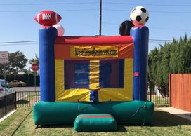 Inflatable Bounce House Sports  Bouncer moonwalk  Bounce Houses for rent