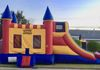 Combo Bounce House Side ($145) All Day + ($50) Water Slide
