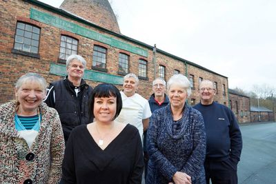 Heron Cross Pottery staff photograph