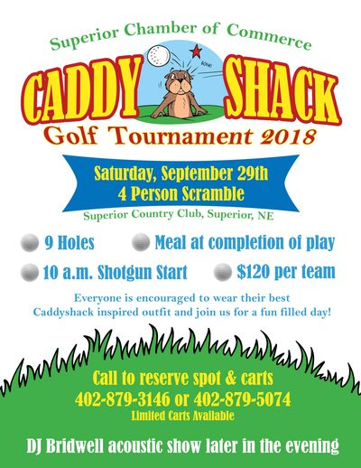 Caddy Shack 9-Hole Tournament