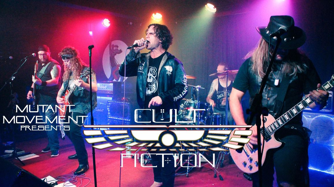Mutant Movement presents Cult Fiction (The Cult tribute)