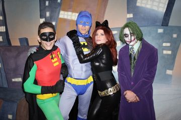 super hero kids character birthday party entertainment services