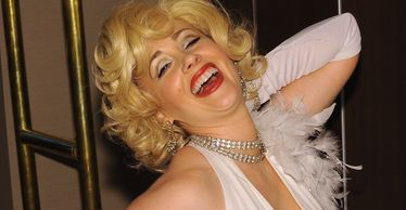 marilyn impersonator party entertainer singing telegram marilyn lookalike tribute show concert show