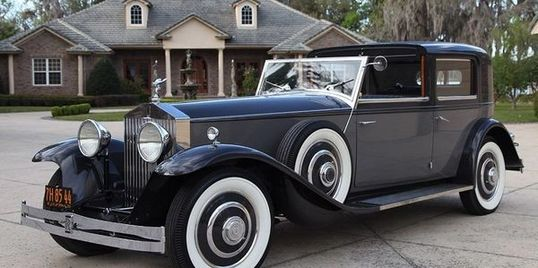 1933 Rolls Royce Phantom II paint, as seen on Competition Ready, detailed by Rodney.