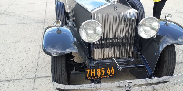 1933 Rolls Royce Phantom II, as seen on Competition Ready.
