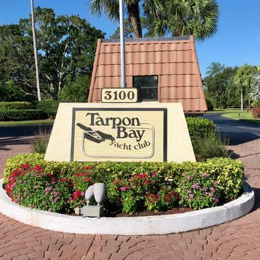 Tarpon Bay Yacht Club Entrance