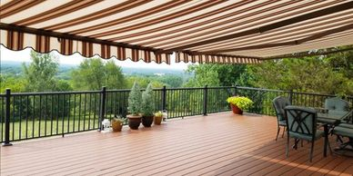 White Elm awnings and shade products