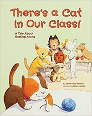 There's A Cat in Our Class book cover