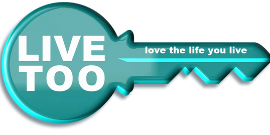 Live Too Key Logo Supported Living