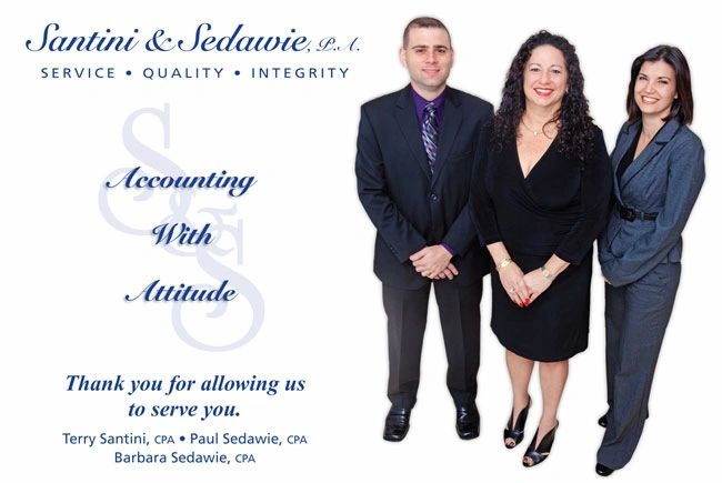 Santini & Sedawie CPA provides tax preparation and planning services for individuals and businesses