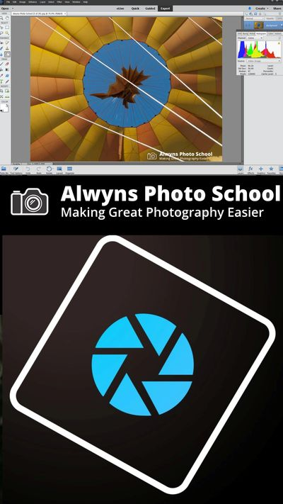 Photoshop elements image for class at Alwyns photo school Melbourne