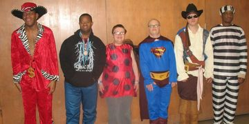 These are members of the Sugar Creek Group Home.  They are regular attendees of our programs.
