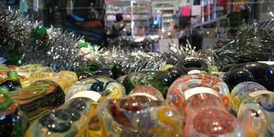 Wide selection of Arizona glass!