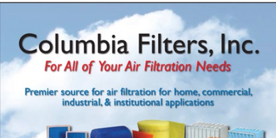 Columbia Filters, Inc. For All of Your Air Filtration Needs