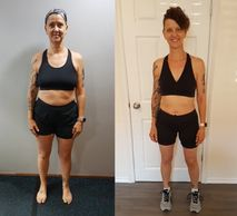 before and after, weight loss transformation, client testimonial, Winnipeg, fitness , healthy