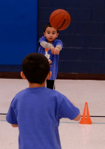 Basketball for kids ages 4-11 years in Greenfield, WI.