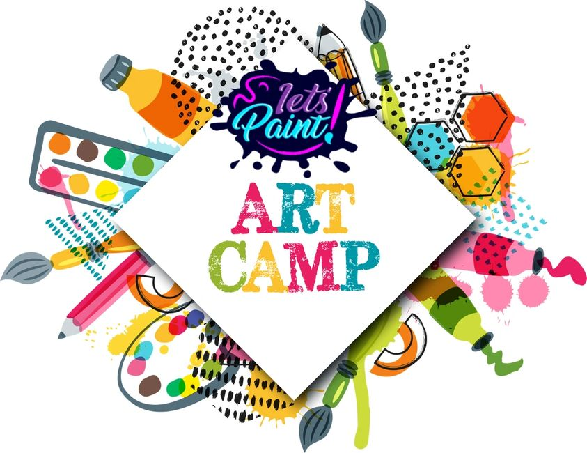 Summer Art Camp in Southaven Ms at Let's Paint