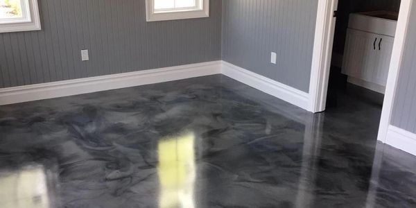 Reflector Epoxy Flooring Comes in many colors, Limited only by your imagination..