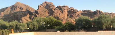 Camelback View from the patio