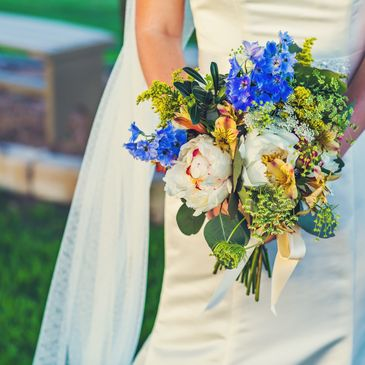 Bridal Bouquet Las Brisas Farm Hill Country